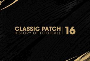 Classic Patch 16
